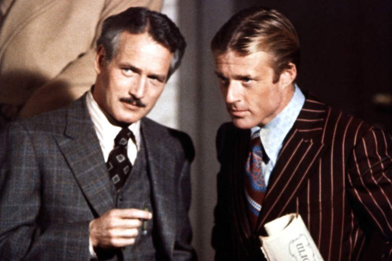 THE STING, from left: Paul Newman, Robert Redford, 1973
