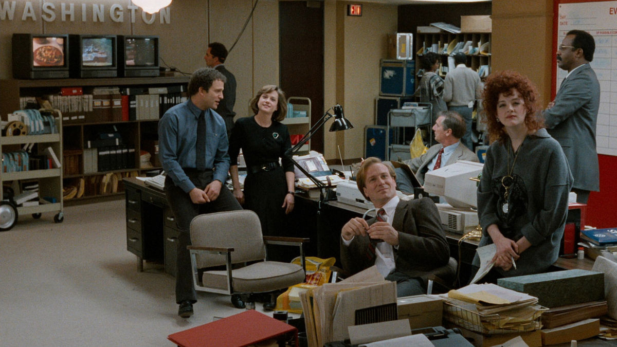 Broadcast News (1987)  Comedy, Drama, Romance