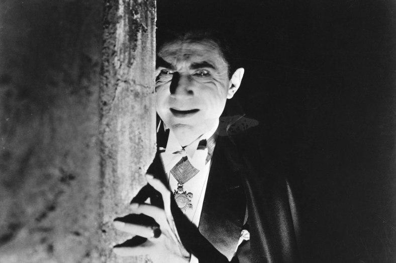 Bela Lugosi as Dracula, 1931, directed by Tod Browning.